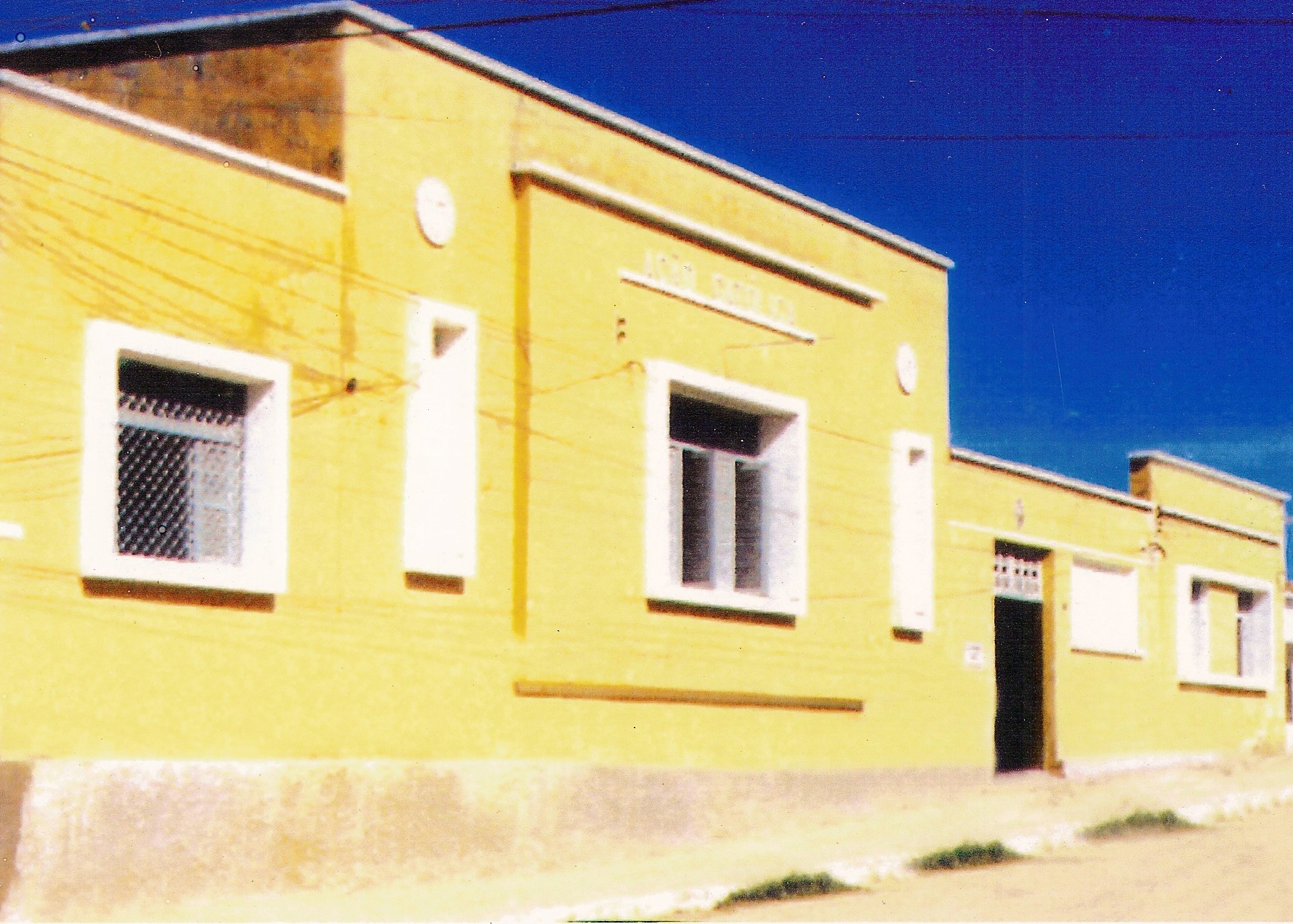 Fachada do primeiro prédio da Rural