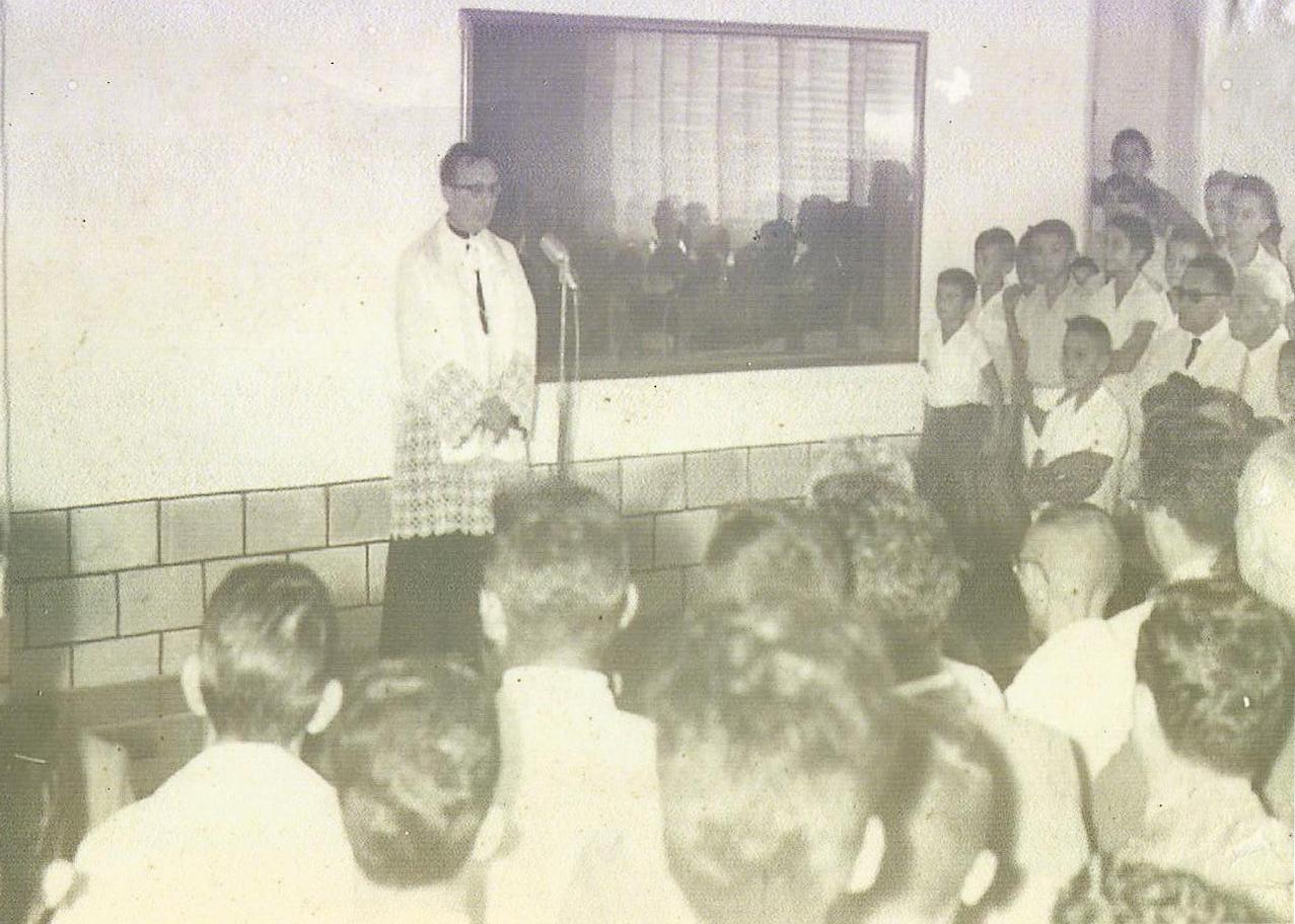 Fala de Dom Manoel Tavares na inauguração