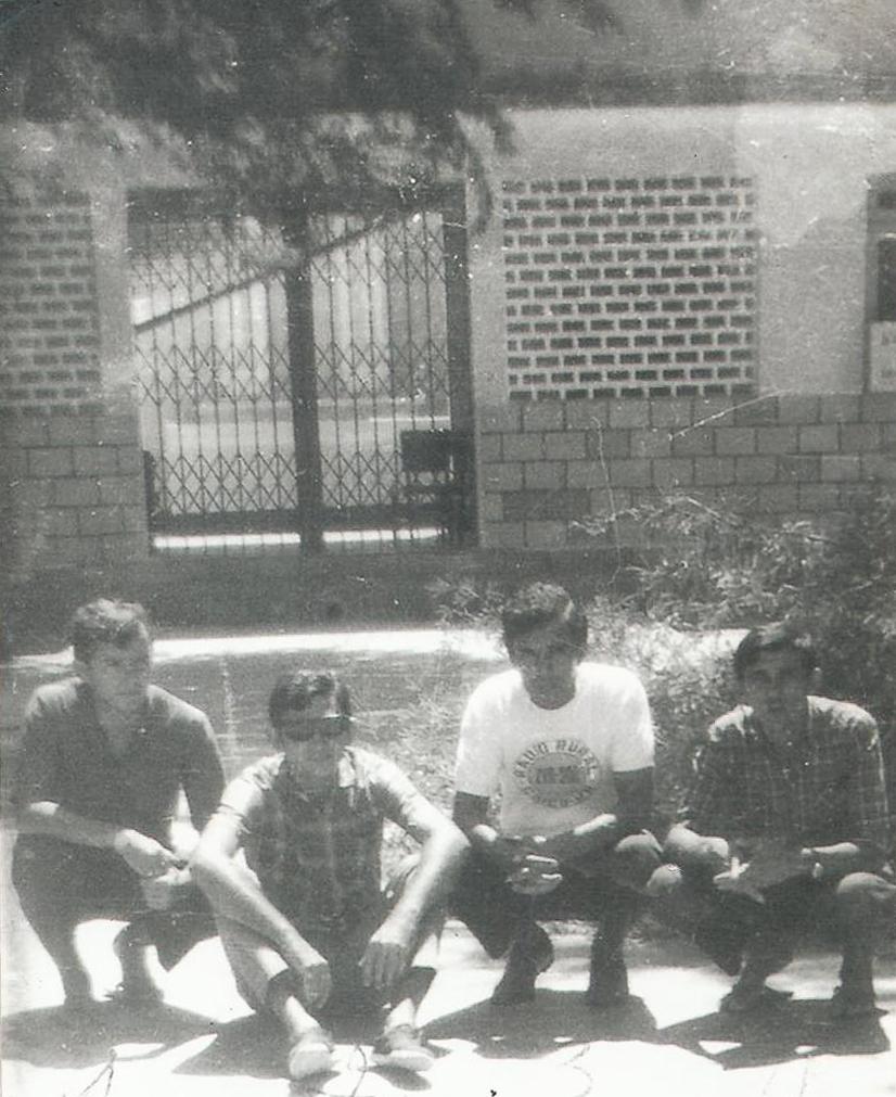 Getúlio Costa, Geraldo Dantas, - Pátio Interno da RR - inicio dos anos 80