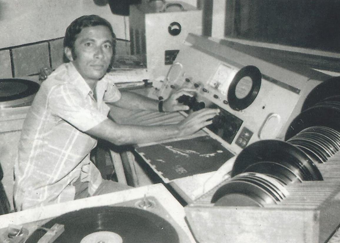 Miguel Sabino - Operador de áudio - controlista