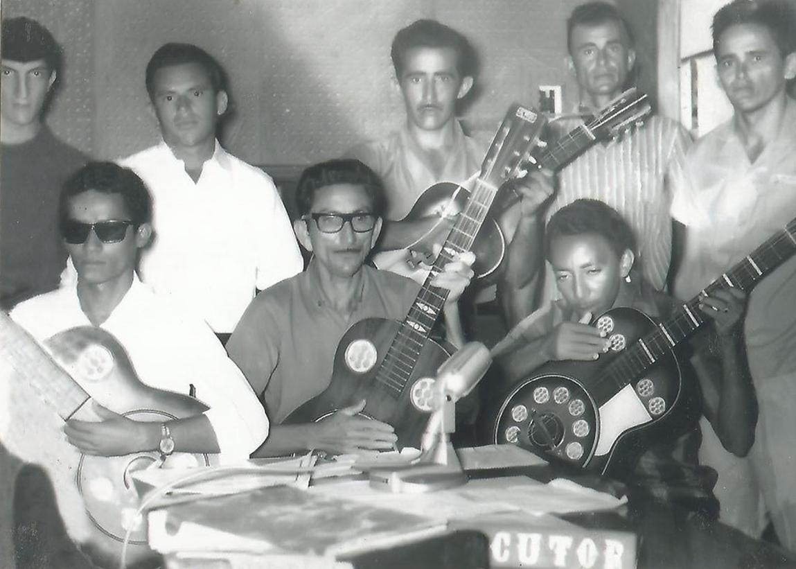 Programa Violeiros do Seridó - Chico Mota, Cicero Nascimento, Sebastiaão da Silva, Zé Monte e Zé Saores e Zé Lucas de Barros