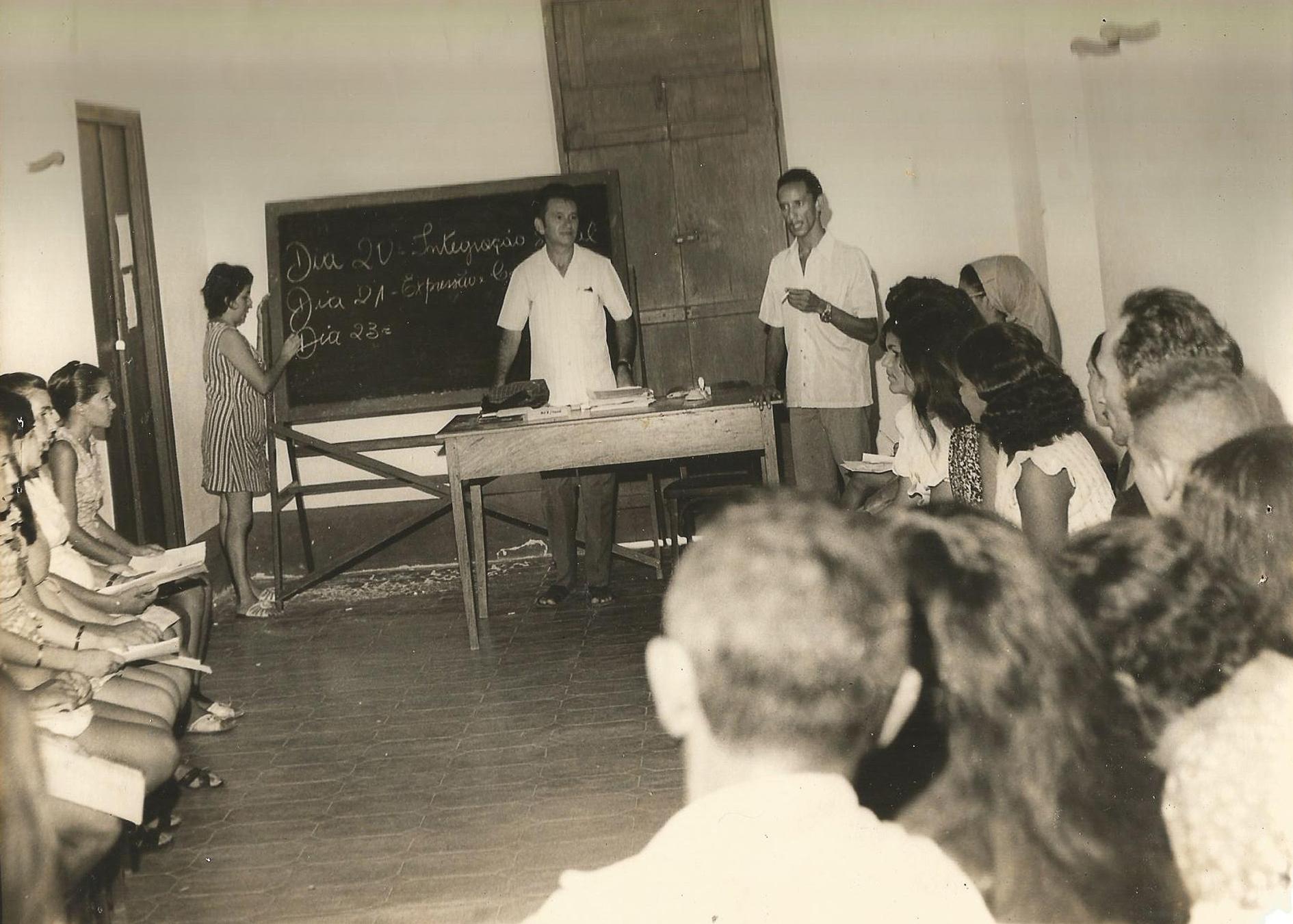 Treinamento de monitores - 19 a 23 de Fevereiro de 1973